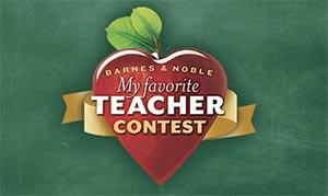 Barns and Nobles Teacher Contest